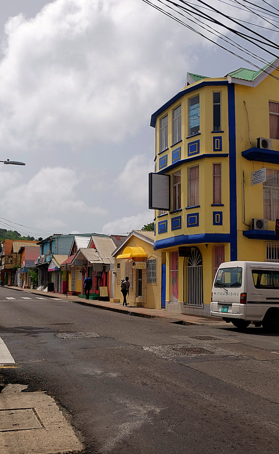 Castries walking tour