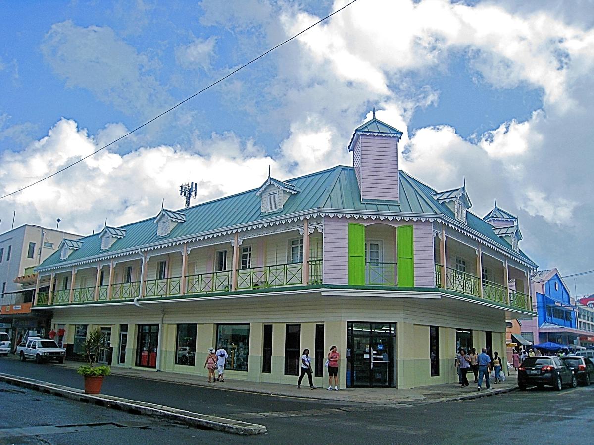 creole architecture rj clarke castries
