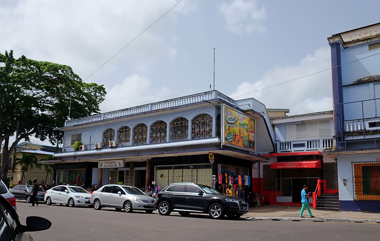 historic buildings castries gaiety cinema
