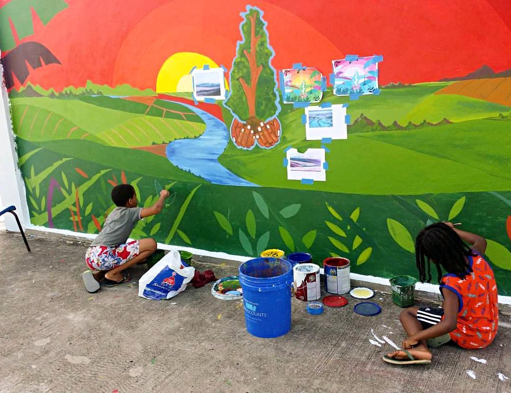 Local arts Saint Lucia