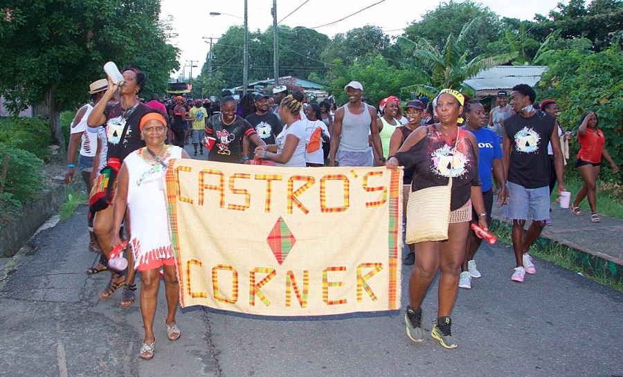 Join in Gros Islet Carnival with Castroz Corna Jourvet Band August 1st Emancipation Day Saint Lucia