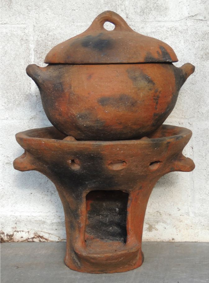 Saint Lucian traditional pottery authentic culture