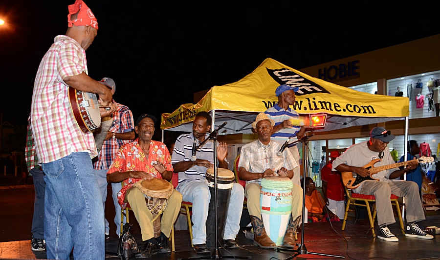 Traditional folk band - authentic st lucian music at fet lawoz la rose