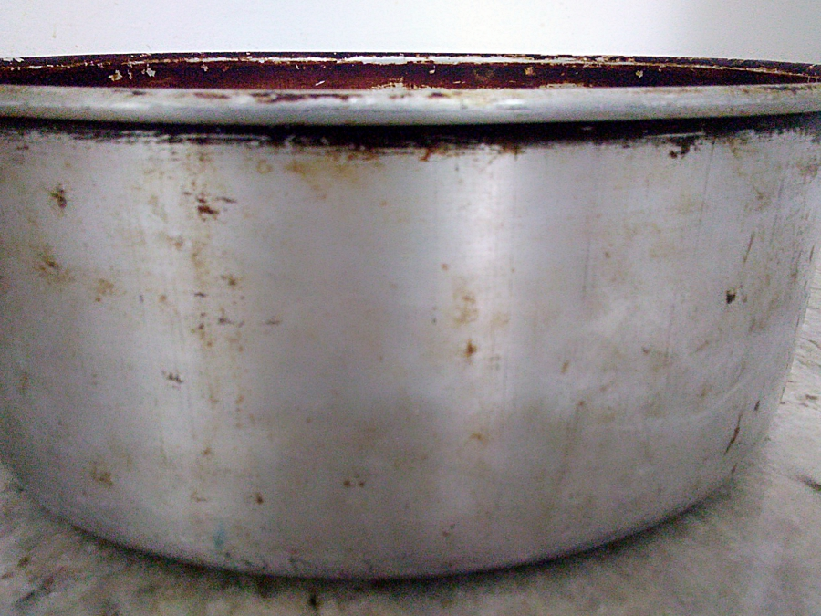 A traditional type of cake pan - caribbean christmas cooking