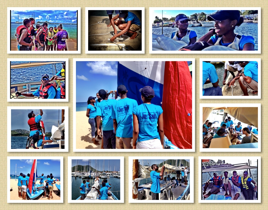 jus sail foundation pepsi and james crockett saint lucia youth maritime sailing training