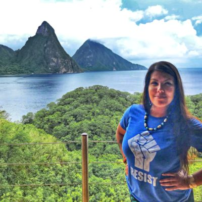 Ana Saldaña – Freelance Sound Mixer and Musician, chats about her trip to Saint Lucia