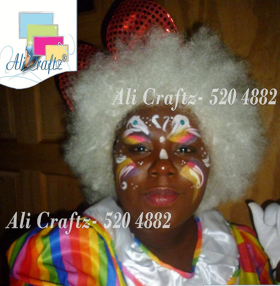 ali craftz face painting for events and all occasions