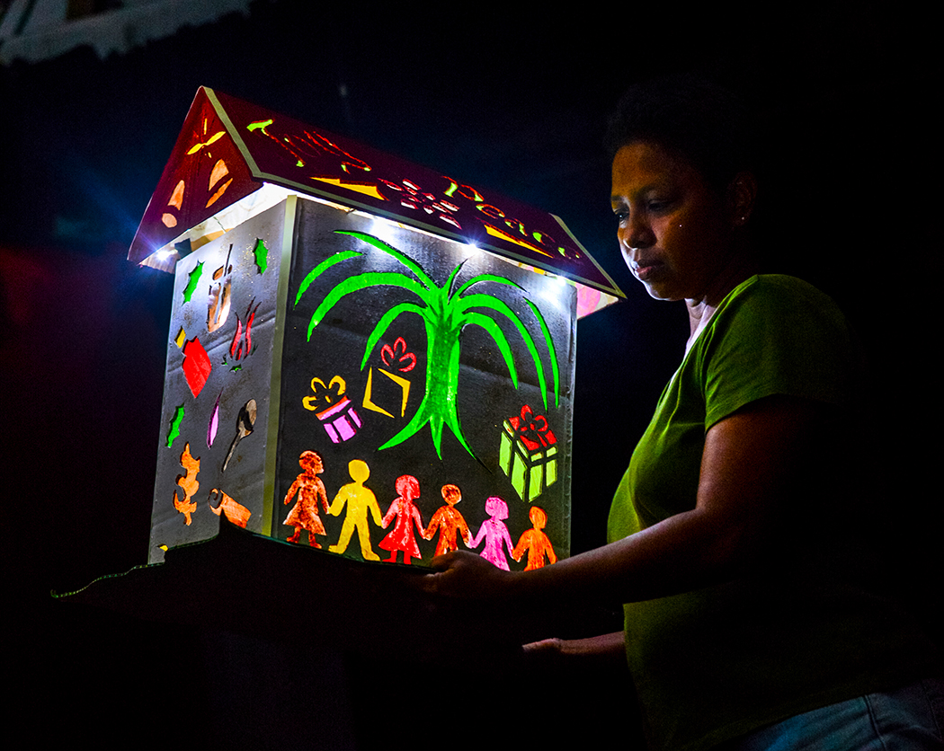 what to do in saint lucia - december festivals, festival of light lantern competition