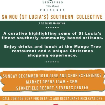 Christmas Gift Shopping in Soufriere – Sa Nou Southern Creative Collective