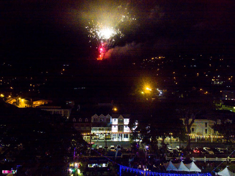 what to do saint lucia traditional christmas festival of light fireworks over castries