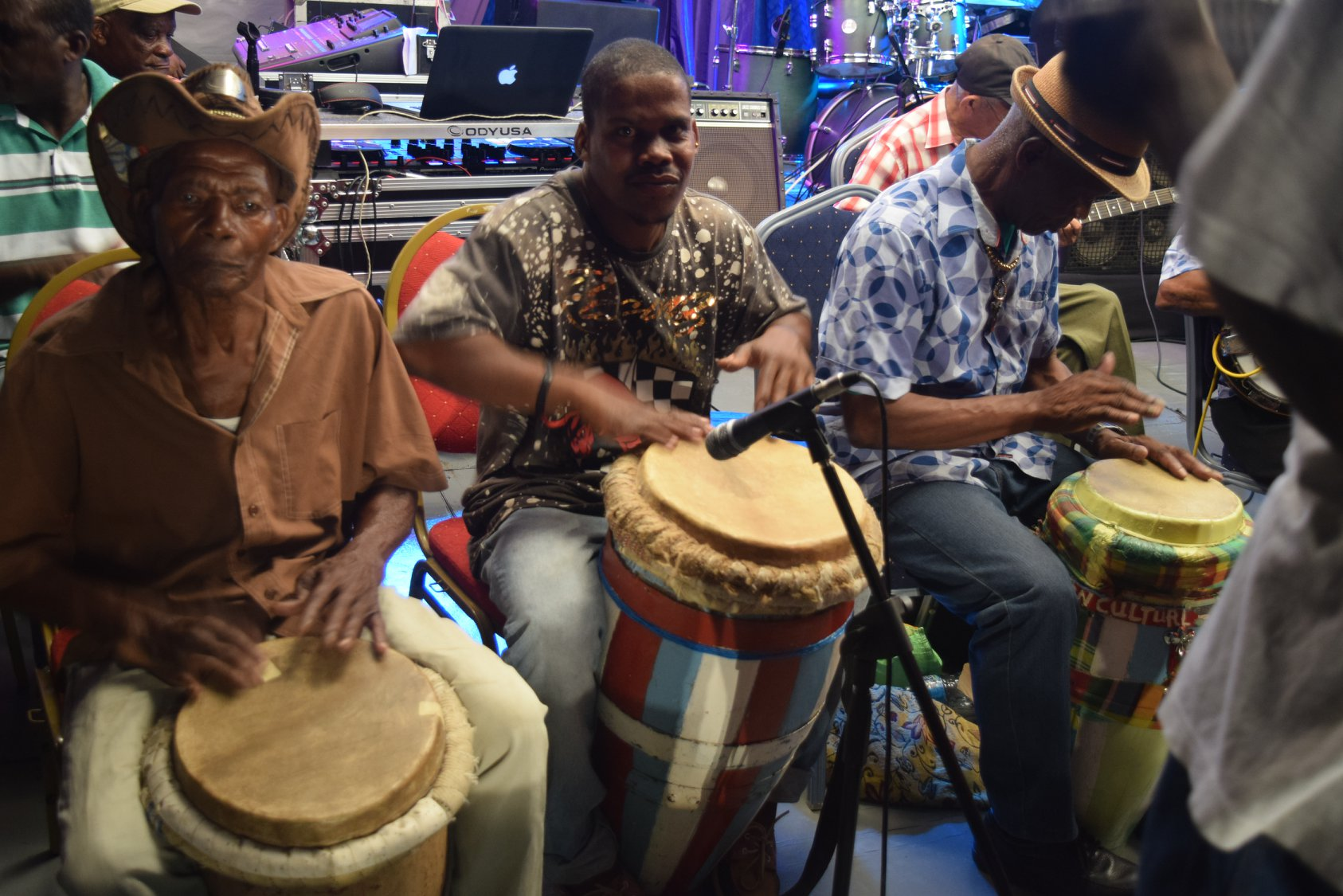 traditional band st lucia