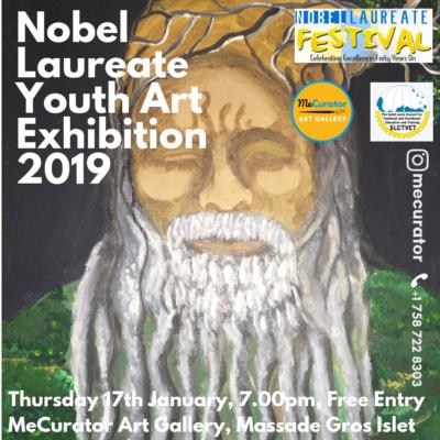 Youth Art Exhibition to celebrate Saint Lucia's Nobel Laureate Festival