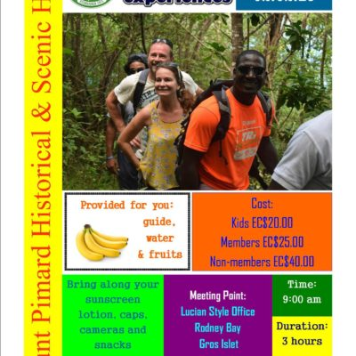 Hike Morne Pimard with the Saint Lucia National Trust