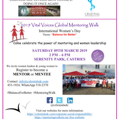 2019 Vital Voices Global Mentoring Walk