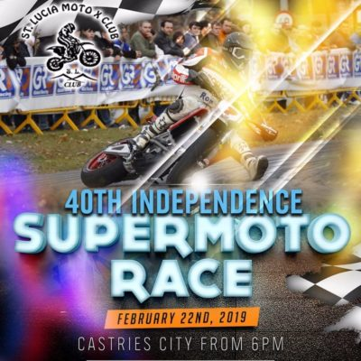 Saint Lucia 40th Anniversary of Independence SuperMoto Race