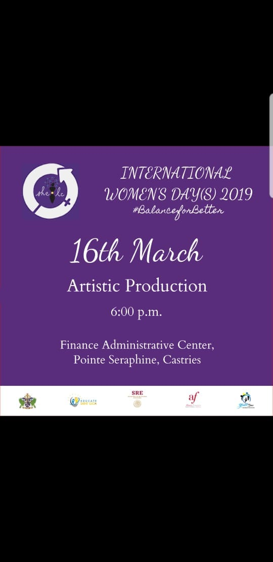 what to do in st lucia she international womens day production