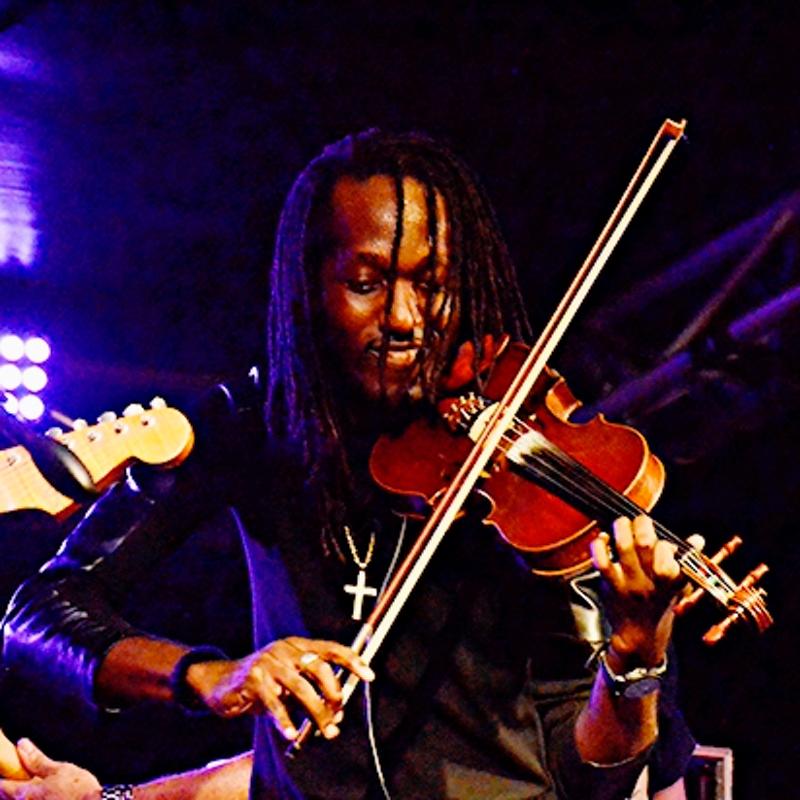 st lucia jazz local musician Yannick James of Saint Lucia