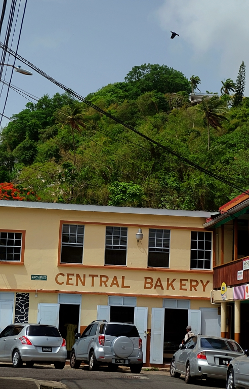 Castries walking tour bakery