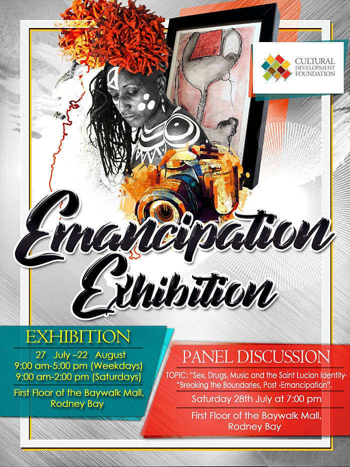 Ceramics exhibition for Emancipation Baywalk Mall