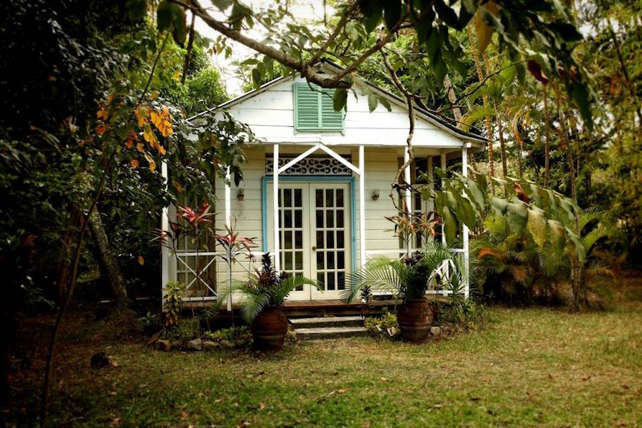 accommodation south saint lucia balenbouche frangipani cottage