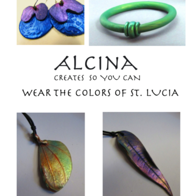 Alcina Nolley artist and art jeweler