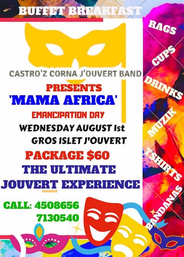 Castroz Corna Jourvet Band Gros Islet Carnival