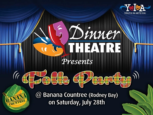Youth Theatre Dinner Theatre fundraising event