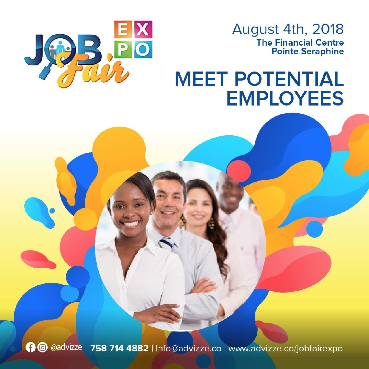 Job Fair Expo Financial Centre Pointe Seraphine August 4th