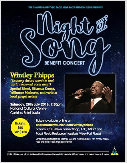 Charles family go back, give back benefit concert