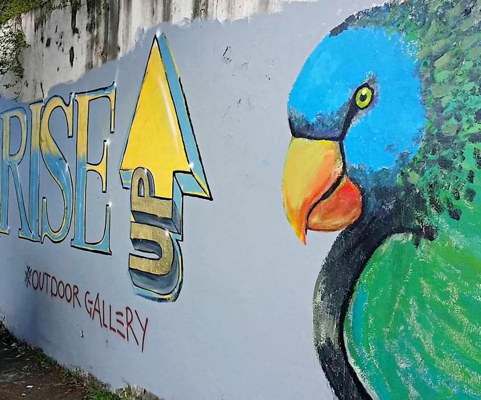 street art saint lucia