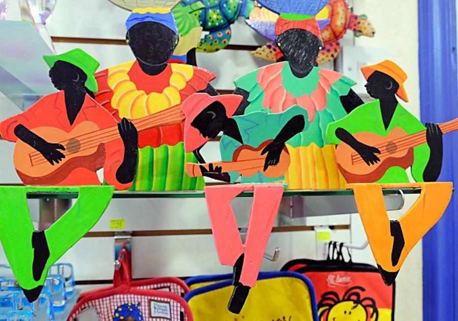 Authentic St. Lucia souvenirs