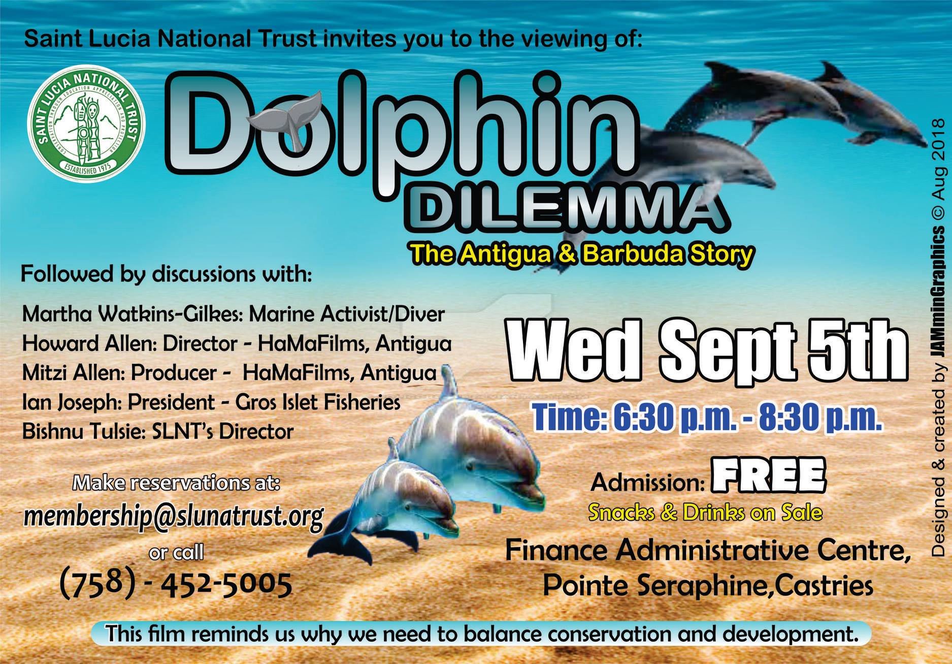 conservation vs development - free movie about antigua and barbuda's struggle with a dolphinarium