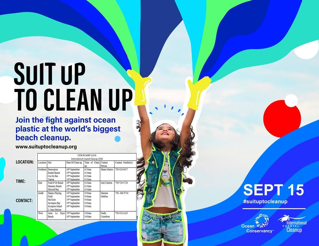 International coastal cleanup day saint lucia what to do in st lucia events calendar - give back, voluntourism