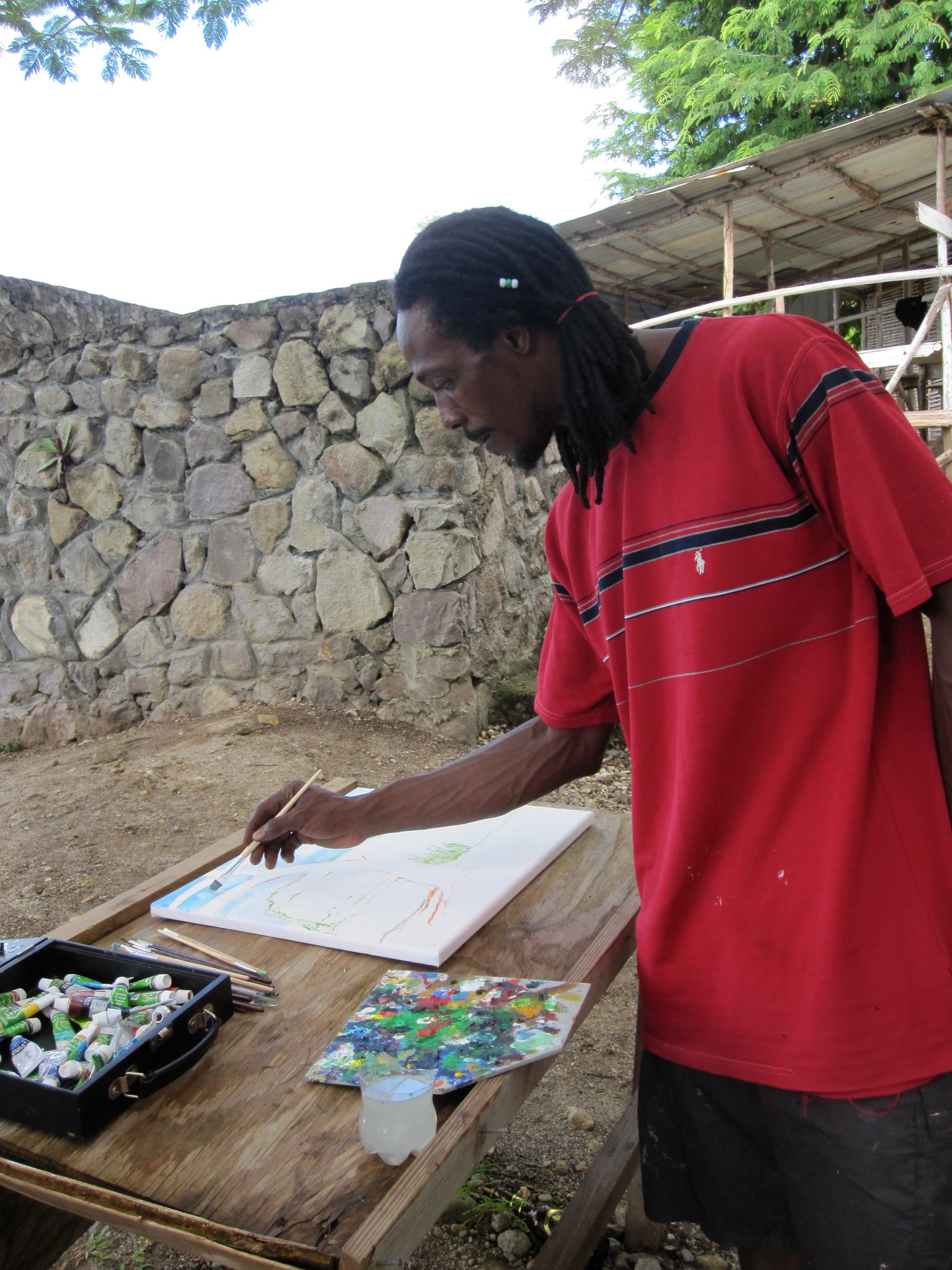 what to do in saint lucia events calendar plein air paint out castries 2018