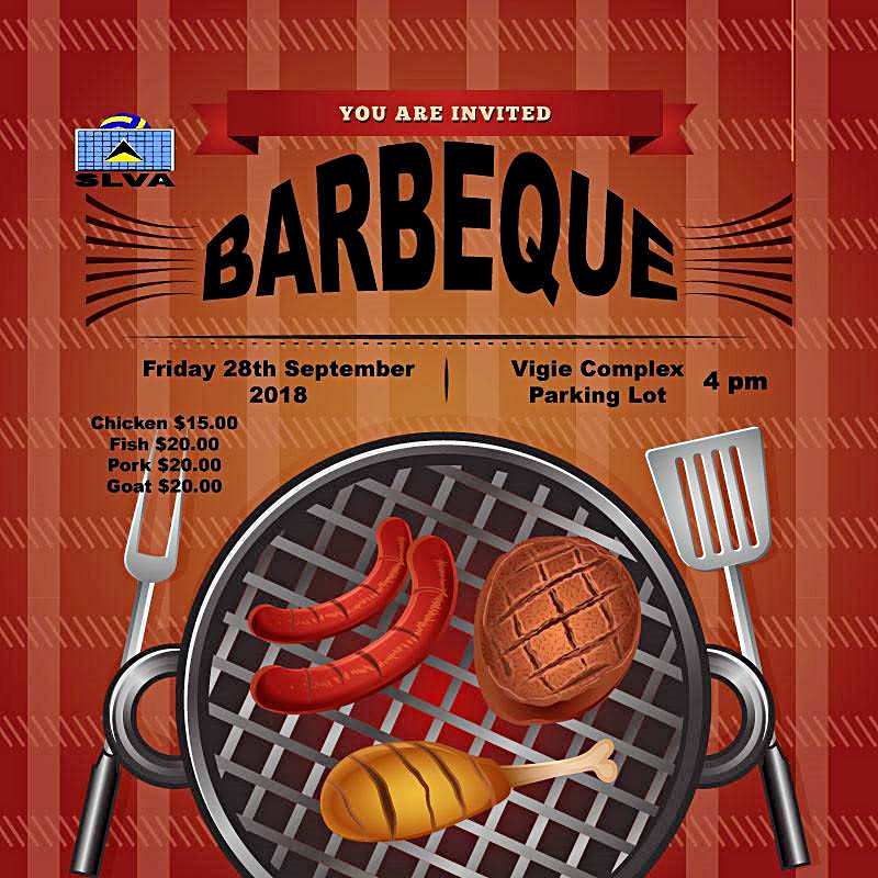 volleyball association fundraising barbeque what to do in st lucia events calendar give back voluntourism