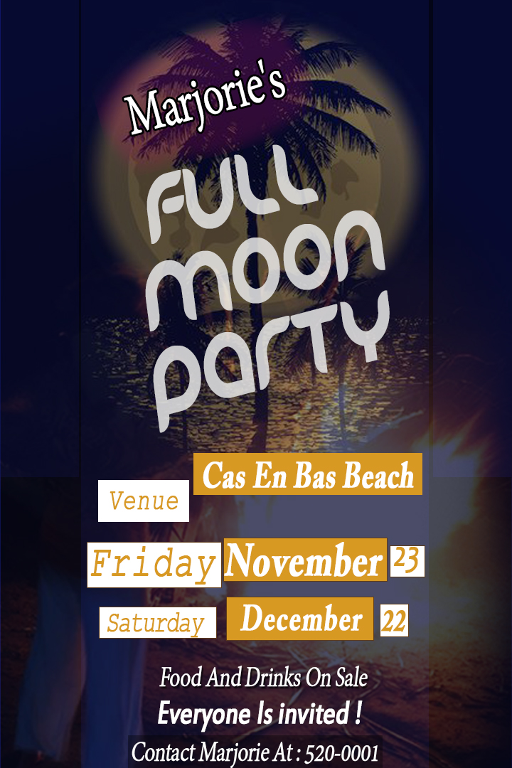 full moon beach party at Majories Bar, cas en bas, gros islet things to do saint lucia