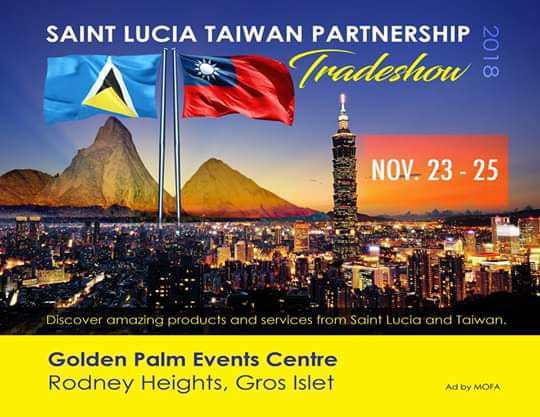 christmas shopping authentic gifts saint lucia taiwan partnership trade show