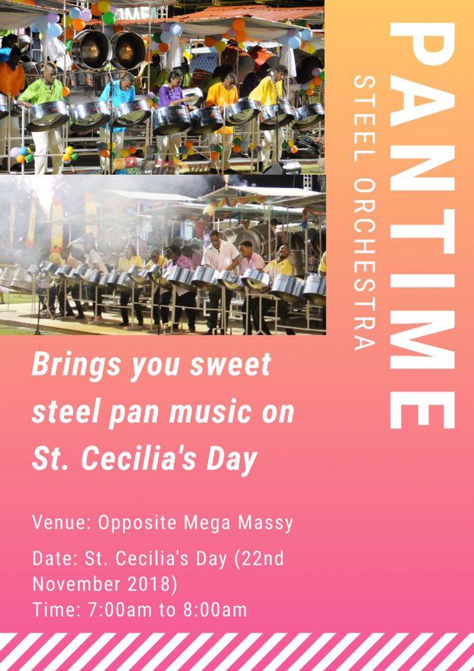 St Cecilia's Day, Saint Lucia celebrates the patron saint of music - free music performances all over the island