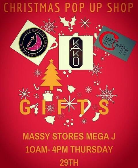 christmas shopping christy's creations illuminating design kako organics pop up shop authentic saint lucia gifts