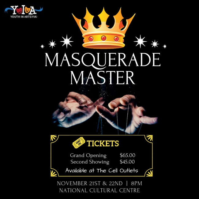 masquerade master an musical by Drenia Frederick