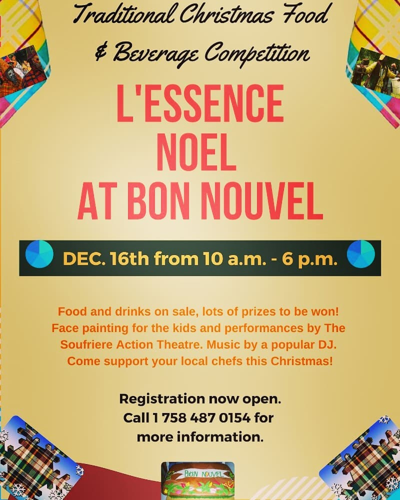 L'essence Noel christmas fair at bon nouvel what to do in st lucia soufriere