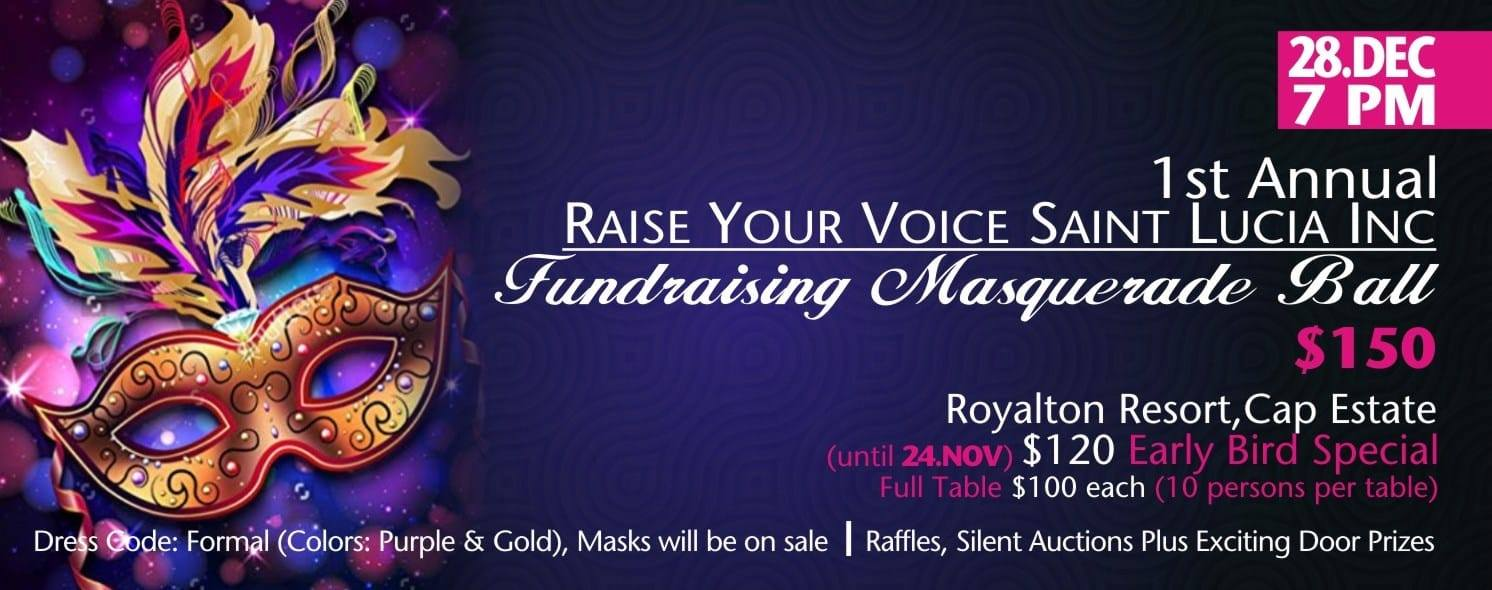 raise your voices fundraising masquerade ball stop violence against women
