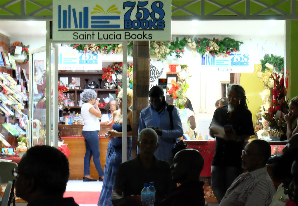 Shopping for authentic St. Lucian goods just got easier with the opening of 758 St Lucia books Cafe Litteraire.