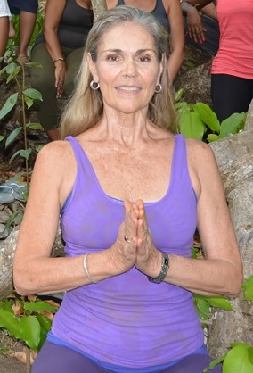 Jill Hagar Certified Therapeutic Iyengar Yoga Teacher, Yoga St. Lucia in Rodney Bay