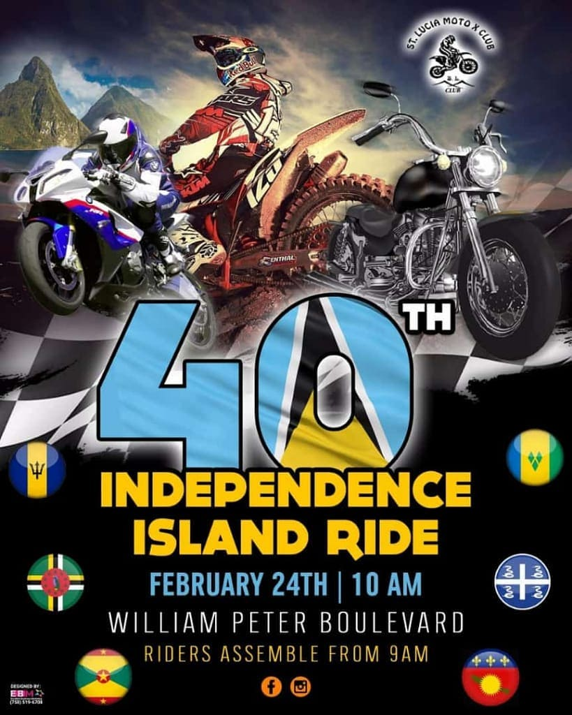 what to do in saint lucia 40th Independence Island Ride