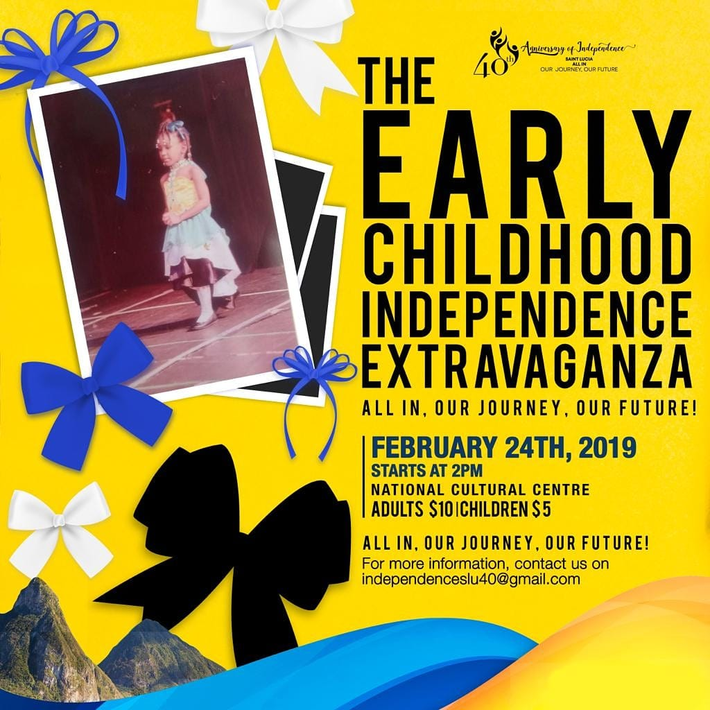 what to do saint lucia 40th anniversary of independence early childhood independence extravaganza at National Cultural Centre