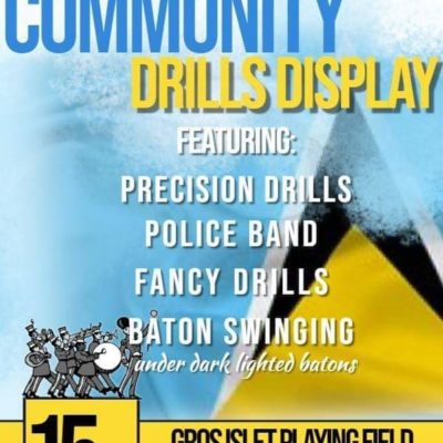 Royal Saint Lucia Police Force Community Drills Display