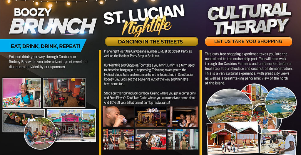 what to do in saint lucia - chi shuttles provides a full range of tours with small numbers - comfort, and lots of fun