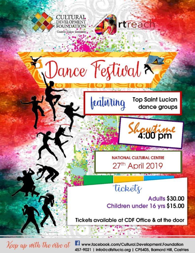 what to do saint lucia Saint Lucia National Arts Festival ArtReach 2019 - Dance Festival