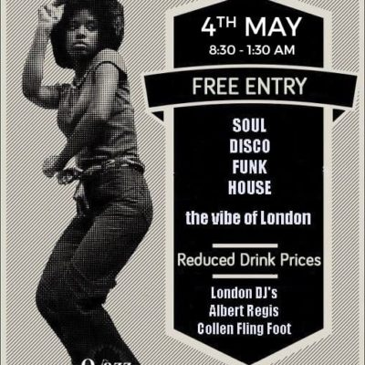 St Lucia Soul UK and Q Jazz Lounge present the Vibe of London